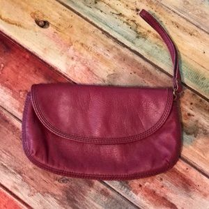 Lucky brand leather wristlet